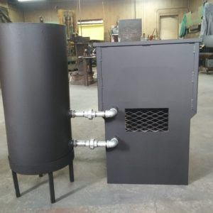 12 gal Galvanized Steel Water Tank
